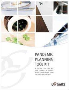 TOOL KIT HELPS INOCULATE BUSINESSES AGAINST EFFECTS OF INFLUENZA PANDEMIC