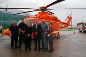 New Medical Helicopter Base Lands In Oshawa
