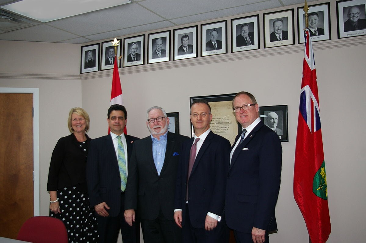 Consulate General to the United States of America visits Oshawa