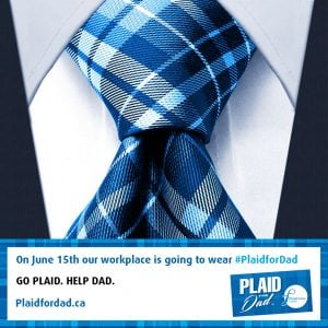Read more about the article Go #PlaidForDad!