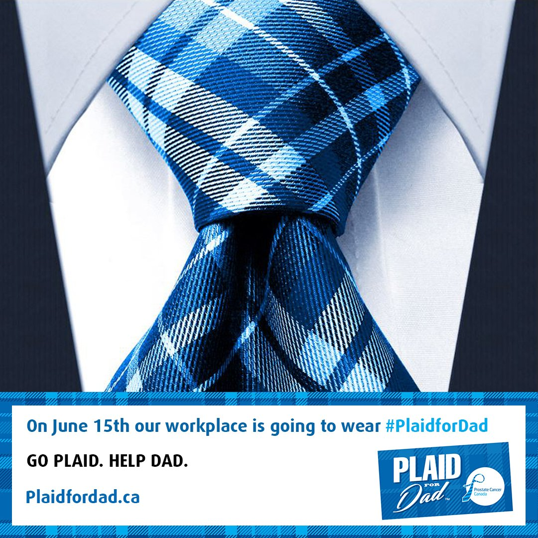 Go #PlaidForDad!
