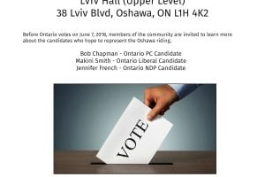 Read more about the article Oshawa Riding – Provincial All Candidates Debate