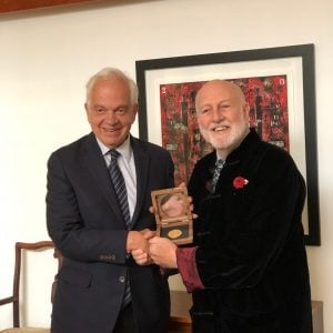 EHC Global Founder Ron Ball Awarded Prestigious Governor General's Medallion by Canadian Government