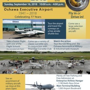 Oshawa Airport Open House
