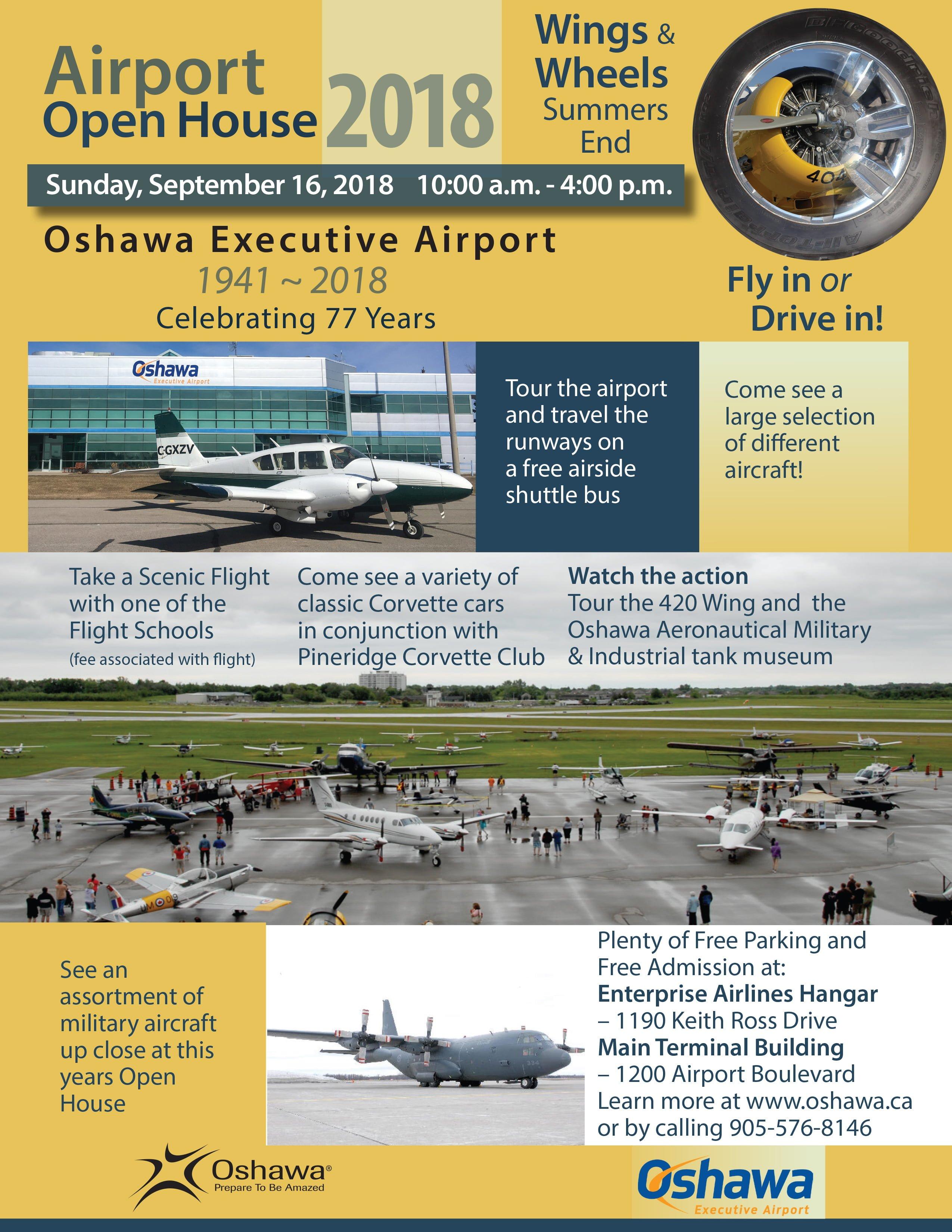Oshawa Airport Open House