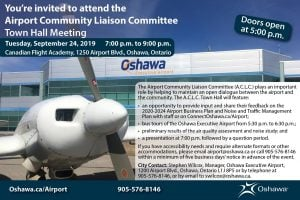 You're invited to attend the Airport Community Liaison Committee Town Hall Meeting