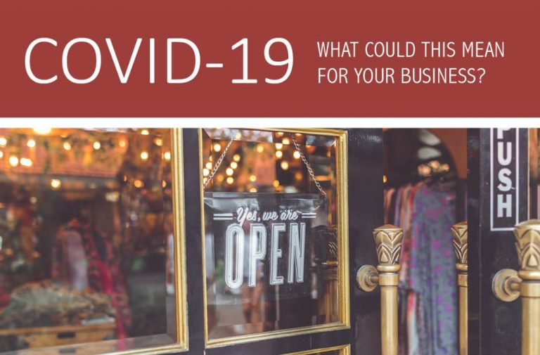 COVID-19: What could this mean for your business?
