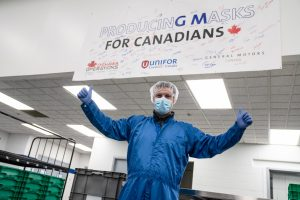 Government of Canada Contracts GM Canada to Provide 10 Million Face Masks – Production to Begin Immediately