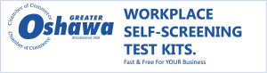 Oshawa Chamber of Commerce Free COVID Test Kits