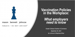 webinar replay vaccine policy and the workplace