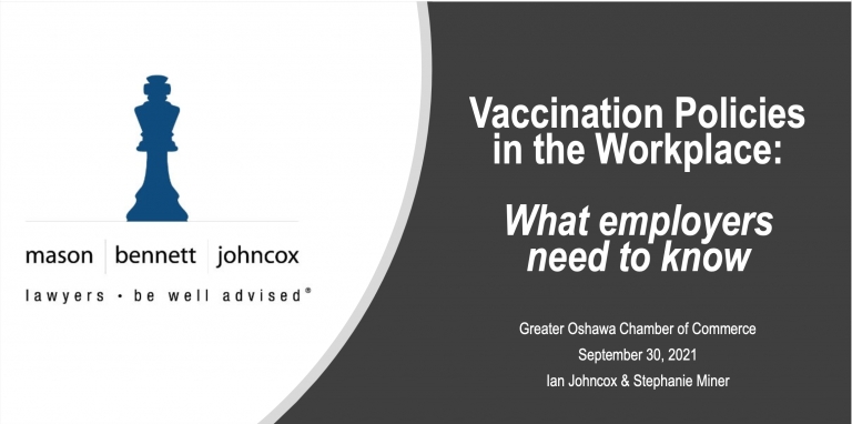 Read more about the article Webinar Replay: Vaccine Policy & The Workplace